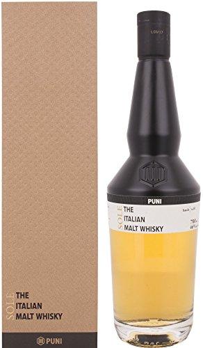 Puni The Italian Malt Whisky mit Geschenkverpackung (1 x 0.7 l)