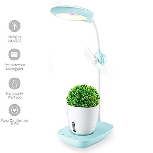 Indoor Herb Garden Kit, Hydroponic Vegetable Garden, Smart Soil Sponge, Ideal for Various Plants, DIY Decoration,Blue