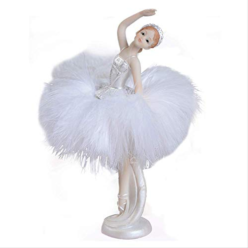 LBYLYH beelden ornamenten decoratie voor thuis Nordic balletmeisjesdecoratie raamdecoratie dansende pop