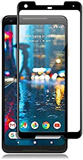 واقي شاشة جوجل بيكسل 2 XL 3D منحني تغطية كاملة من الزجاج المقسى بكسل 2XL مع إطار أسود من ماز - 2724639736434