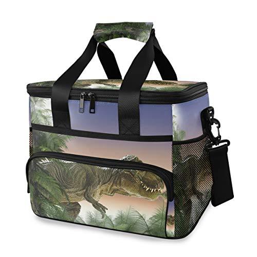 IJszak voor dames, draagbare dinosaurus, jungle, koelbox, box, schouderriem, lunchtas, picknick