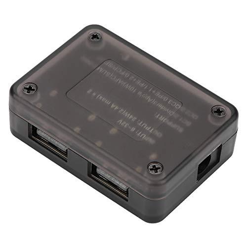 Módulo de configuración, DC-DC Módulo de carga rápida USB doble 12V 24V para QC3.0