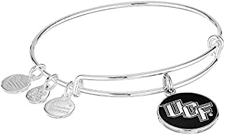 Alex and Ani Women's Expandable Color Infusion University of Central Florida Logo II EWB Bracelet, Shiny Silver