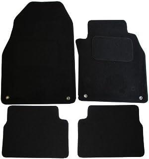 Gummi Saab 9-3 ab 2002 4 Stück Fußmatten Schwarz