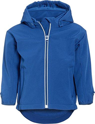 Playshoes Jungen 3-Lagen Softshelljacke, Kinder Softshell Jacke, Blau (original 900), (Herstellergröße: 128)