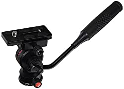 Dolica P250 Pro Level Tripod Ball Head, Black, compact
