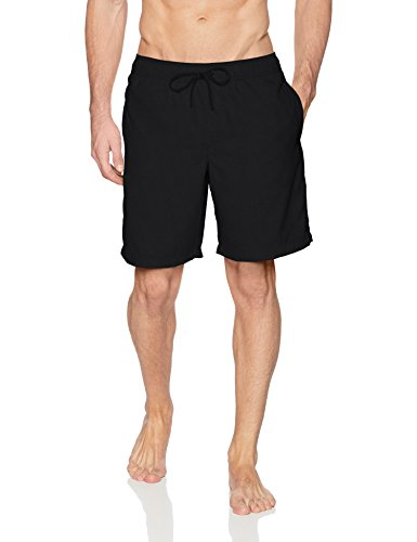 Amazon Essentials fashion-swim-trunks, schwarz, US XXL (EU XXXL-4XL)
