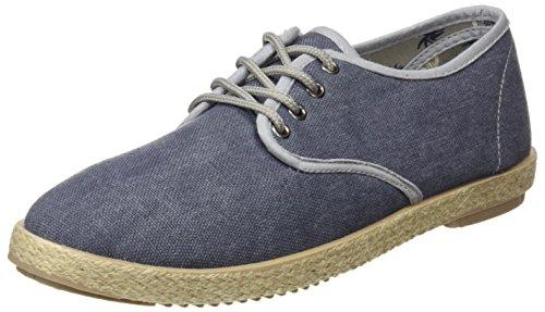 Springfield Yute Washed Cordones, Zapatillas para Hombre, Azul (Marine Blue), 40 EU