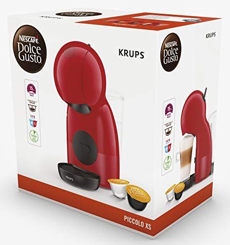 Krups Piccolo KP1A05 – Cafetera cápsulas Dolce Gusto, 15 bares y