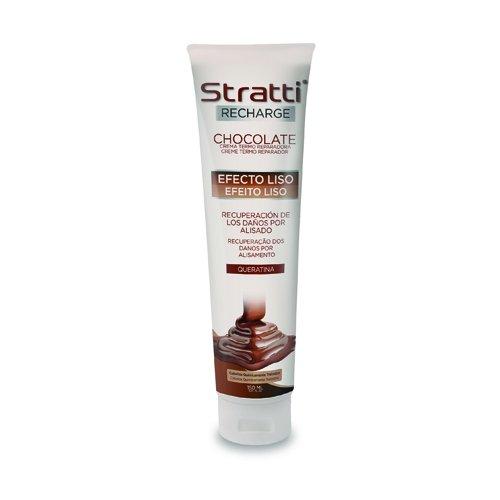 Stratti Chocolate - Carga de Keratina Efecto Liso - 150 ml
