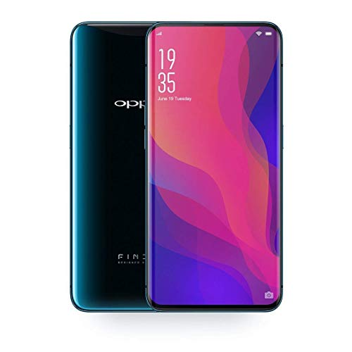 Oppo Find X 8GB+128GB 6.42 inches Panoramic Arc Screen Sliding Stealth 3D Cameras 25MP AI-Enhanced VOOC 4G Mobile Phone (Blue)