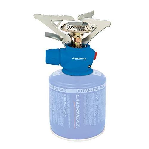 Campingaz 204190 Fornello a Gas per Campeggio/Feste, Utilizzo Facile, Blu