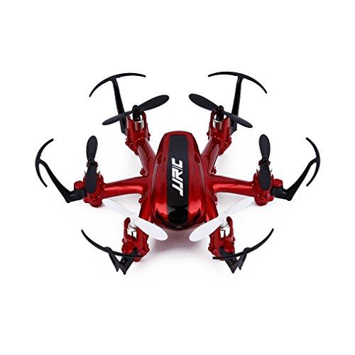 FPVRC JJRC H20 Mini Drone 2.4G 4CH 6 Axis Gyro RC Quadricottero Piccolo Modalità Senza Testa/Un Ritorno Chiave/360 Acrobazia - RTF(Rosso)