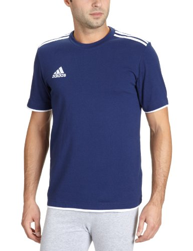 Adidas Men's T-Shirt Core11 Bleu New Nav/White 3