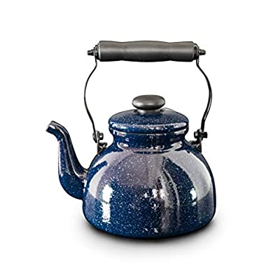 Stovetop Kettles, Whistling Kettle Enamel Kettle Gas Hob Teapot Making Tea Coffee And Hot Water Suitable For All Hob Types
