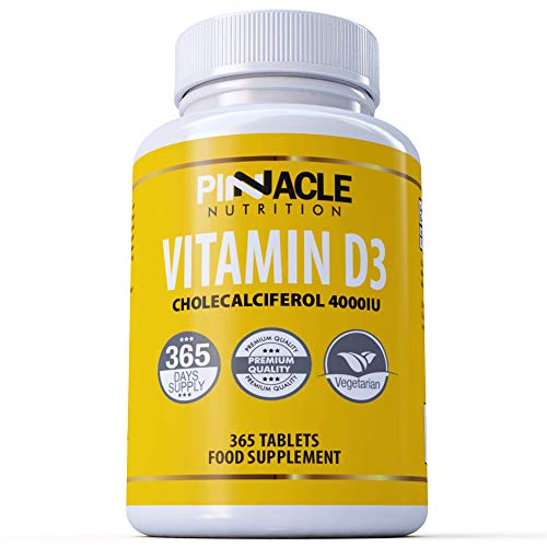 Vitamin D3 4000iu 365 Tablets | One Year Supply | Vitamin D