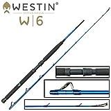 Westin W6 Boat XH 1,95m 20-30lbs 150-400g - Bootsrute zum Meeresangeln auf Dorsch & Heilbutt,...
