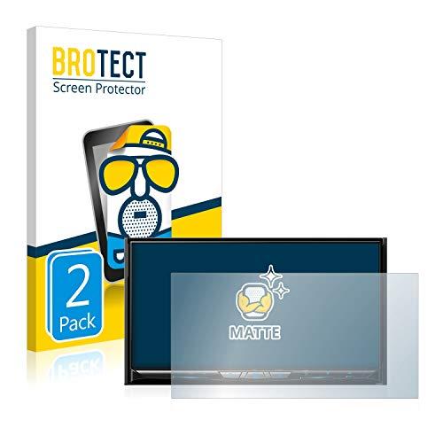 BROTECT 2X Entspiegelungs-Schutzfolie kompatibel mit Pioneer AVIC-Z910DAB Bildschirmschutz-Folie Matt, Anti-Reflex, Anti-Fingerprint