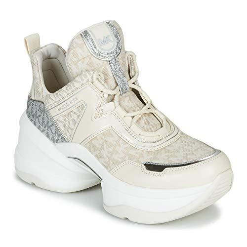 MICHAEL MICHAEL KORS OLYMPIA Sneakers dames Beige/Creme/Zilver Lage sneakers