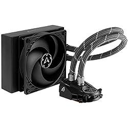 ARCTIC Liquid Freezer II 120 - Sistema di Raffreddamento ad Acqua per CPU All-in-One (AIO) Multi-Compatibile, Compatibile con Intel & AMD, Pompa Controllata tramite PWM, Ventola: 200-1800 RPM - Nero