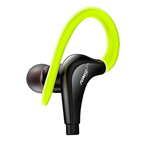 Yowablo Kopfhörer Ohrhörer Headset wasserdichte IPX5 Kopfhörer Sport Running Kopfhörer Stereo Bass Headset mit Mikrofon ( Grün )