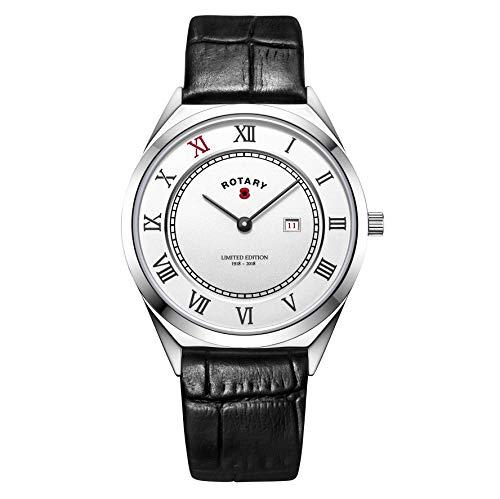 Rotary Reloj edición Limitada WWI Centenario. BRITISHLEGION