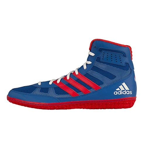 adidas Mat Wizard 3 David Taylor Edition Wrestling Shoes - Royal/Red/White - 15