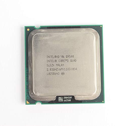 Intel Core 2 Quad Processor Q9500 2.83GHz 1333MHz 6MB LGA775 CPU, OEM (Renewed)