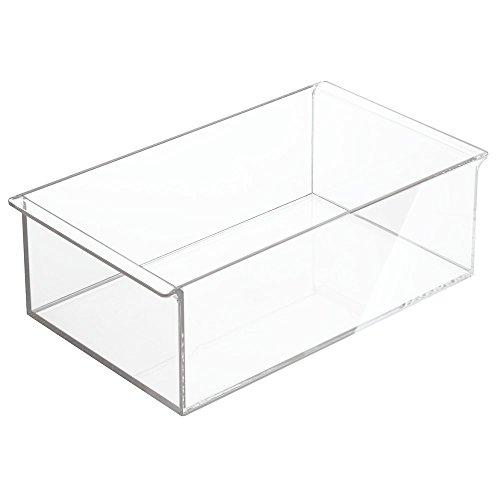 InterDesign Clarity Portacosmetici, Extra Profondo, 30.5x18x10 cm