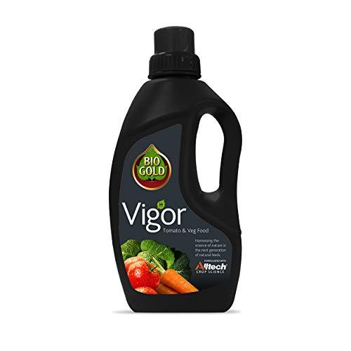 Bio Gold Vigor Tomato & Veg Food 1 Litre, Brown
