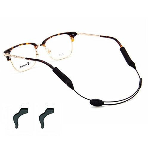 Ear Hook Holder Set 2x Kids Silicone Eyeglasses Sunglasses Glasses Strap