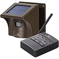 eMacros 1/2 Mile Solar Weather Resistant Driveway Alarm System