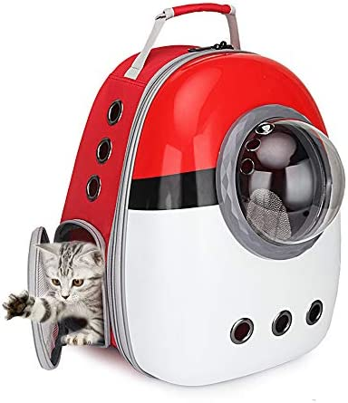 Portable Travel Pet Carrier Bubble Backpack for Dog and Cat Dome Airline Approved Space Capsule product image