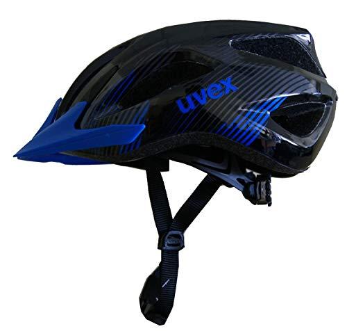 Uvex Viva II Fahrradhelm (Größe: 52-57 cm, 24 Black Blue)