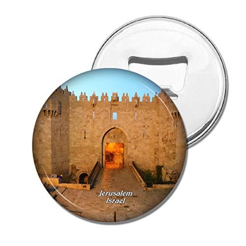 Weekino Israel Israel Damaskus Tor Jerusalem Bier Flaschenöffner Kühlschrank Magnet Metall Souvenir Reise Gift