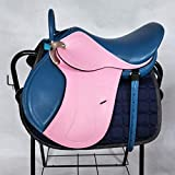 XMXM Sillín de carrera de sillín de equipo de silla de montar de caballo, asiento de asiento de niño profundo, silla de montar no con accesorios adecuados para la amortiguación de deportes ecuestres