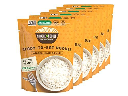 Miracle Noodle Plain Shirataki/Konjac Noodles - Vegan, Gluten Free, Kosher...