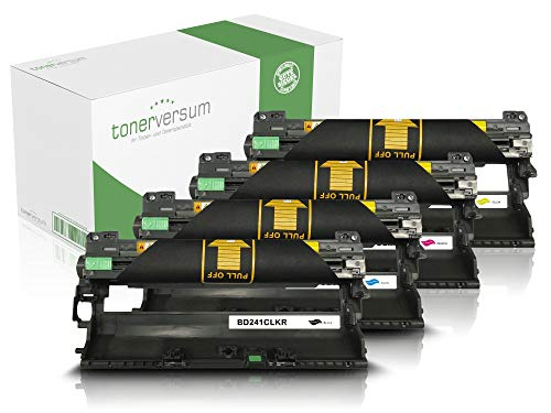 4 Trommeln kompatibel zu Brother DR-241CL Bildeinheit für MFC-9332cdw HL-3152cdw DCP-9017cdw MFC-9142cdn MFC-9342cdw HL-3172cdw HL-3142cw DCP-9022cdw Laserdrucker