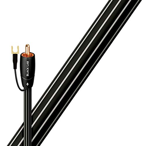 AudioQuest Black Lab RCA Male to RCA Male Subwoofer Cable - 9.84 ft. (3m)