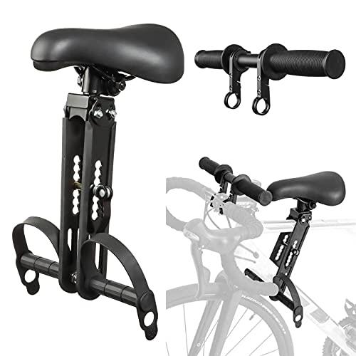 joyvio Silla Bicicleta,Asiento Bicicleta Niño Y Manillar De Bicicleta Set Portable Asiento Bicicleta Niño Delantera Fácil De Desmontar E Instalar (Size : Child Bike Seat+Handlebar)