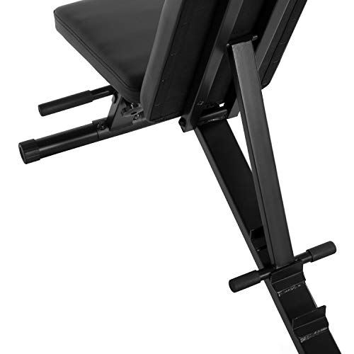CAP Barbell Multi Purpose Adjustable Utility Bench, Black