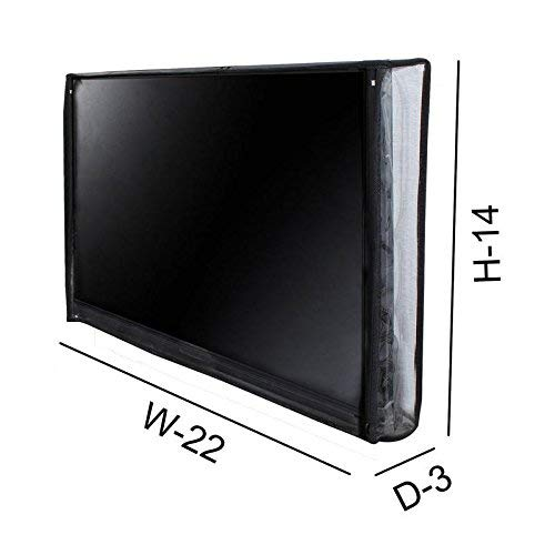 Star Weaves Transparent led tv Cover for Panasonic 24 inches led tvs (All Models) - Dustproof Television Cover Protector for 24 Inch LCD, LED, Plasma Television