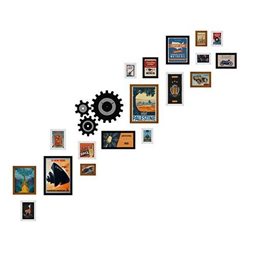 fotolijst muur trap foto muur restaurant combinatie fotolijst industriële wind decoratieve schilderij kan zetten foto's