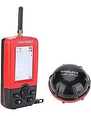 DISHUECO Buscador de pescado portátil de mano, 100 m, sensor de sonar inalámbrico Fishfinder Echo Sounder buscador de pescado Fisher Tackle accesorio