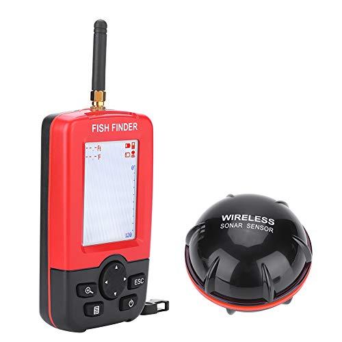 Wireless Fishfinder, 100M Portable Angeln Sonar Sensor Fish Finder LCD Tiefe Finder