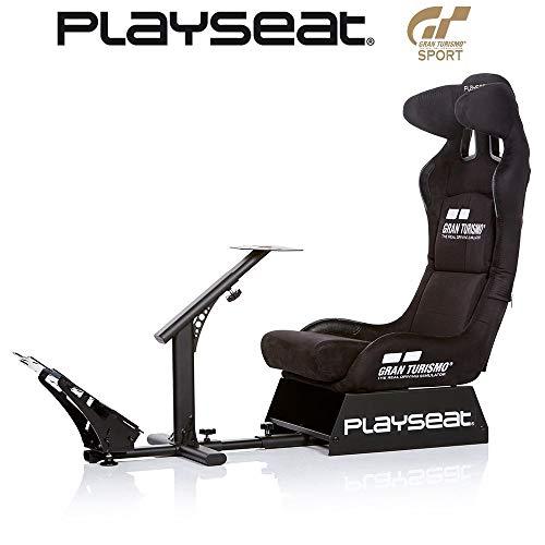 Playseat レーシングコックピット Gran Turismo 公式公認の特別モデル スチール製台座 REG00060 【国...