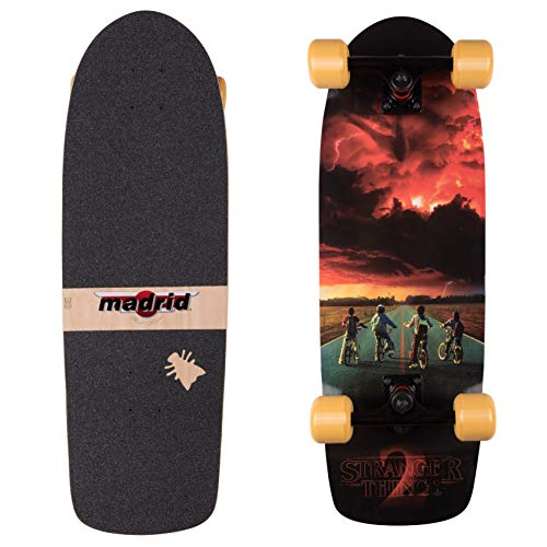 Madrid Skateboards x Stranger Things Cruiser Compleet board ST2 Road Poster 74,3 cm