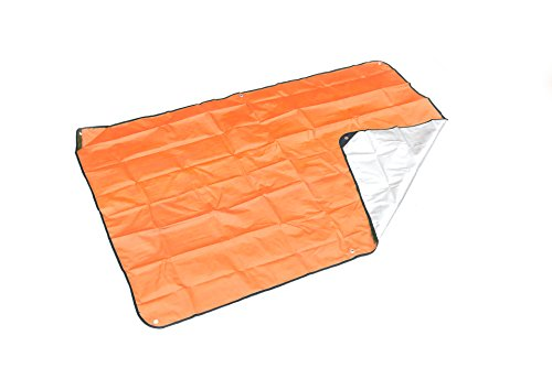 SE EB5982OR Survivor Series Extra Heavy Duty Thermal Reflective Emergency Blanket, Orange