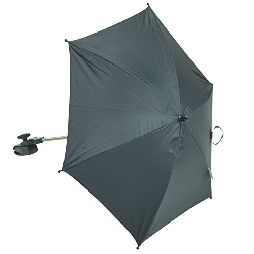 For-your-Little-One universele parasol voor kinderwagen, geschikt voor Bugaboo, zwart