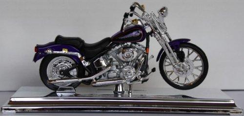 Motorrad Modell Harley Davidson 2001 FXST Springer Softail - Maisto 1:18